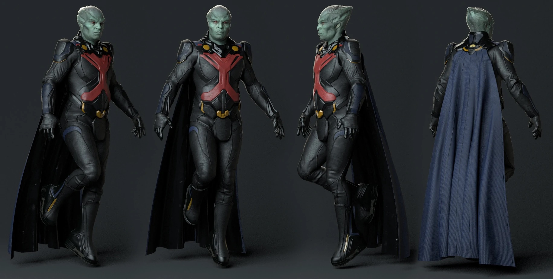 Costume de Martian Manhunter