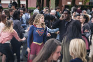 11.Supergirl Girl of Steel Supergirl & J'onn J'onzz