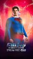 Poster crisis on infinite Earths Superman terre 96