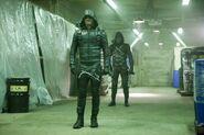Arrow-Midseason-Premier-Photos-Show-Olive-Queen-Face-Prometheus-with-Mister-Terrific-and-Felicity-7