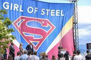 5.Supergirl Girl of Steel Lena Luthor