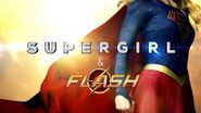 First Look Behind the Scenes of the Supergirl Flash Crossover