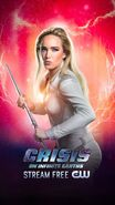 Poster Crisis On Infinite Earths White Canary