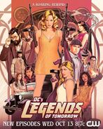 Poster Legends of Tomorrow LOT Saison 7