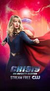 Poster crisis on infinite Earths Supergirl