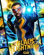 Poster Saison 4 Black Lightninh Black Lightning