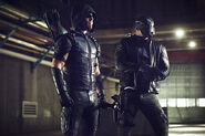 9.Arrow Monument Point Green Arrow et Spartan