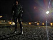 Dernière fois de Stephen Amell en costume pour Arrow