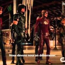 The Flash & Arrow (2x08 & 4x08) Extended Crossover Promo - Legends Of Today HD VOSTFR-0