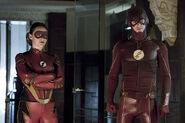 8.the flash the new rogues jesse quick & flash