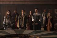 4.Legends of Tomorrow-Camelot 3000-Guenièvre, Nate, Jax, Amaya, Ray et Sara