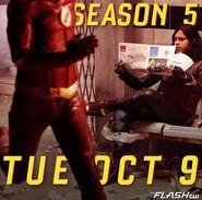 Poster The Flash Saison 5