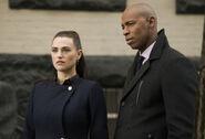 12.Supergirl We Good Lena Luthor et James Olsen