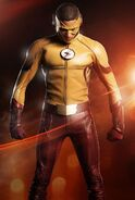 Saison 3 the Flash costume Wally West