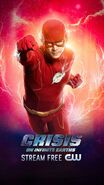 Poster Crisis On Infinite Earths The Flash