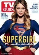 Promo supergirl TVguide