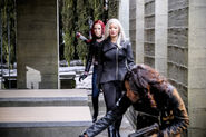 5.Arrow The Sin-Eater Lady cop, Cupid et China White