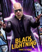 Poster Black Lightning Saison 4 Tobias Whale