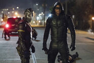16.Arrow next of kin Wild Dog et Green Arrow