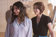9.Supergirl Far From The Tree Alex et Maggie