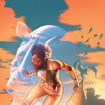 Justice League of America Vixen Rebirth Vol 1 1 Textless Variant.jpg