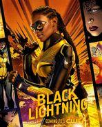 Poster Black Lightning Saison 4 Thunder