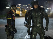 15.Arrow next of kin Wild Dog et Green Arrow