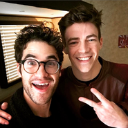 Darren criss et Grant Gustin