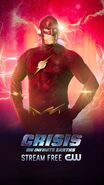 Poster crisis on infinite Earths The Flash 90