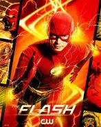 Poster saison 7 The Flash Flash