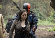 3.Arrow Lian Yu Deathstroke et Evelyn Sharp