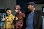 13.The Flash Cause and Effect Kid Flash, Flash et Joe