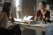 20.Supergirl The Faithful Lena et Samantha