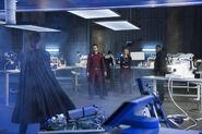 8.Supergirl-The Fanatical-Reign, Mon-El, Lena, Supergirl et J'onn