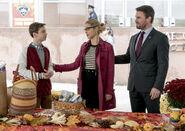 4.Thanksgiving Arrow William, Felicity et Oliver