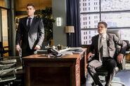 4.Arrow The Sin-Eater Oliver Queen et Adrian Chase