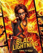 Poster Black Lightning Saison 4 Lightning