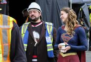 18.Supergirl supergirl-lives Supergirl & Kevin Smith