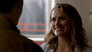 Patty Spivot and Barry Allen talk in CC Jitters (2)