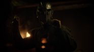 Man in the iron mask in glass prision (3)
