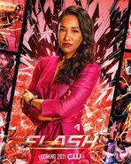 Iris West-Allen Season 7 Poster