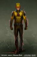 Reverse-Flash concept art 1