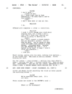 The Fallen script excerpt - page 31