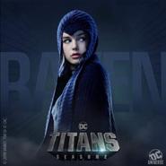 Titans - Raven Poster - Season 2