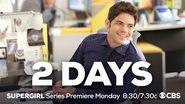 2 days until the Supergirl series premiere