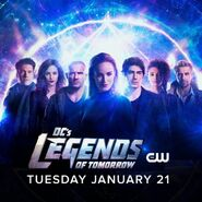 DC's Legends of Tomorrow Season 5 Poster