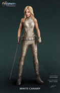 White Canary concept artwork
