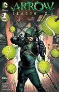 Arrow Season 2.5 chapter 1 variant cover