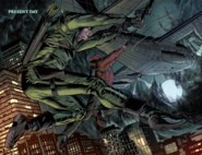 Oliver and Roy hang from a cargo plane