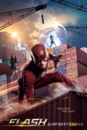 The Flash season 4 poster - Outmatched Think Again!